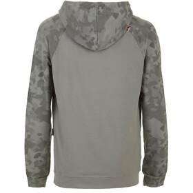 E9 Squ-C Fleece Heren, grey